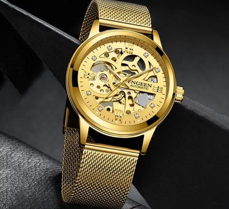 clemstore gold watch